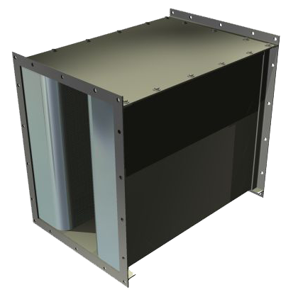 DF with Side-Removable Baffle Construction
